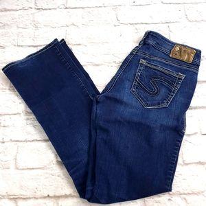 Silver Suki Mid Slim Boot cut  Jeans size 28